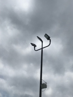 outdoor pole lights